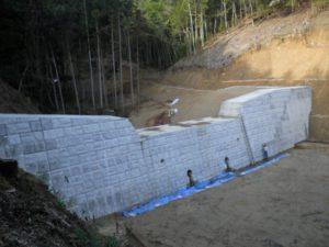 林の谷川地域防災対策(避難対策)工事