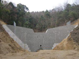 五万騎川通常砂防工事