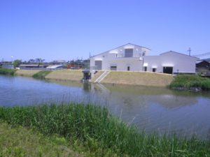 京丹後市内ヶ森第1雨水ポンプ場建設工事